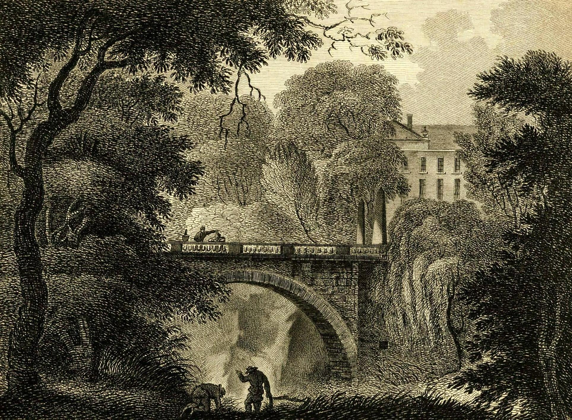 Barskimming House and Bridge