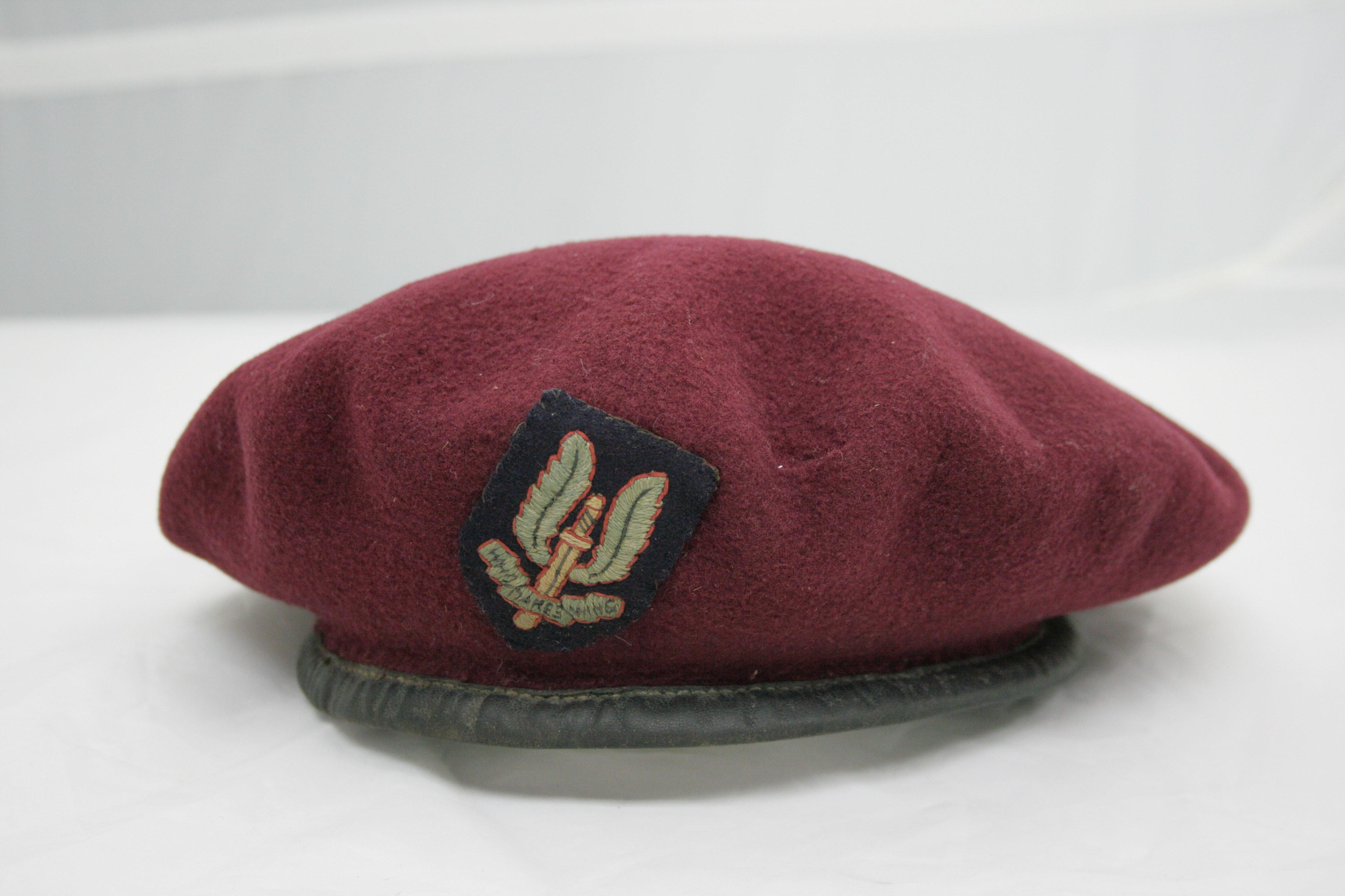 Cecil Ridings SAS Beret