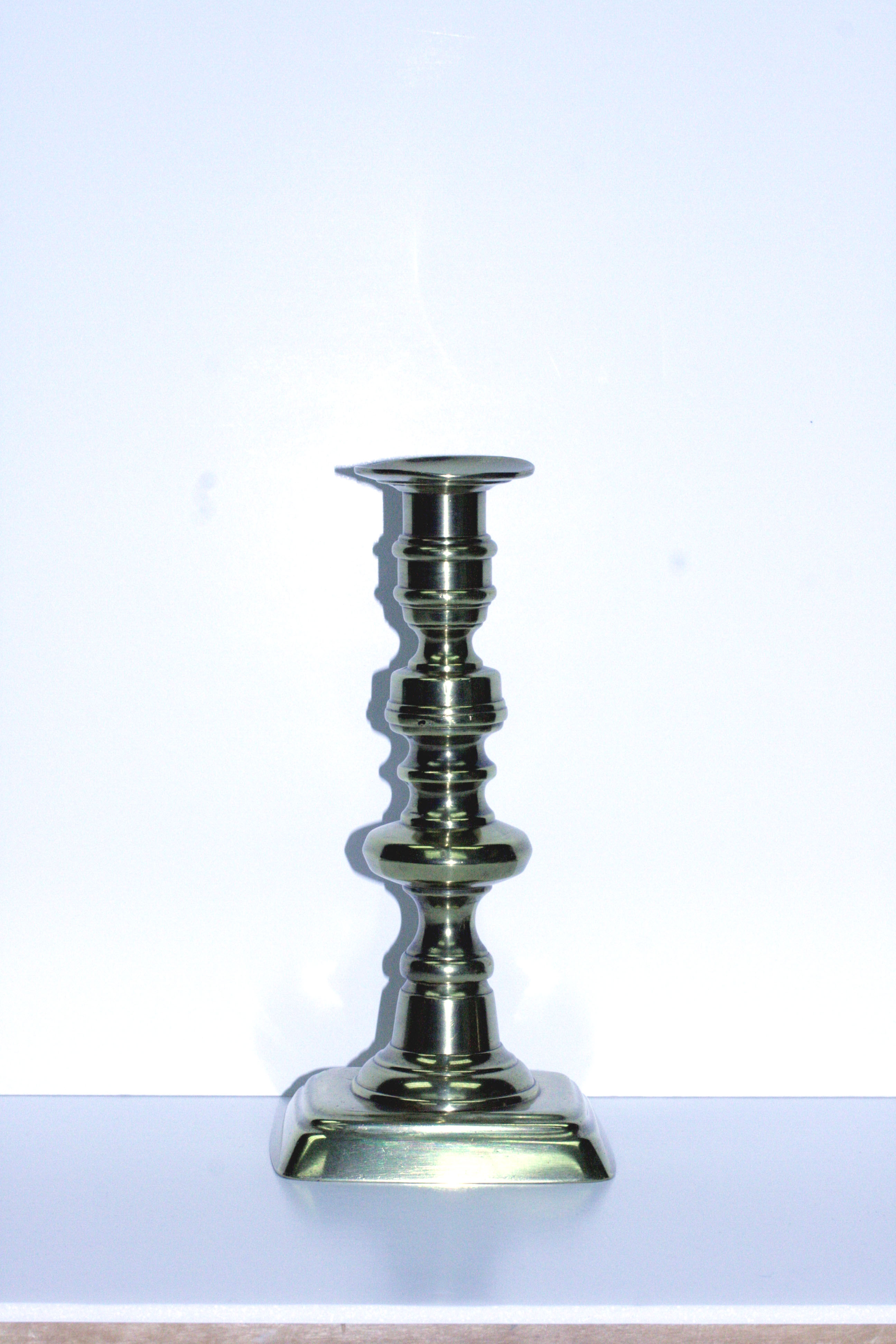 Medium Brass Candlestick