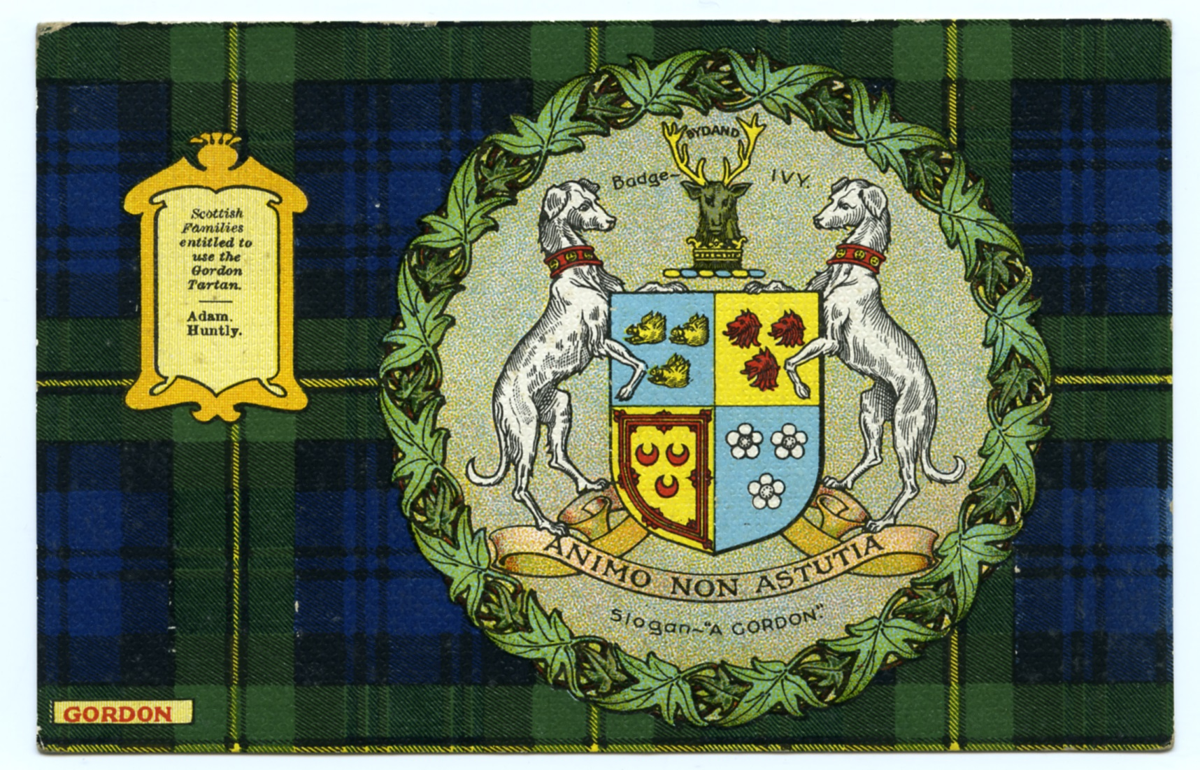 Historic Holiday- Clans, Tartans, and Edwardian Postcards