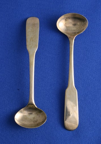 Salt Spoons Oar End Pattern