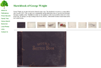 Sketchbook of George Wright